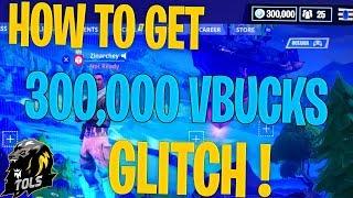 FORTNITE BATTLE ROYALE - HOW TO GET 300,000 VBUCKS FREE GLITCH !!! *WORKING VBUCKS GLITCH*