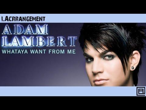 WHATAYA WANT FROM ME (Adam Lambert) - LACrrangement Piano Cover