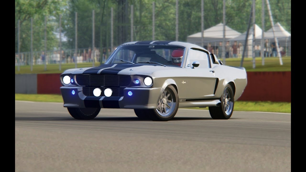 Shelby gt500 eleanor top gear at silverstone