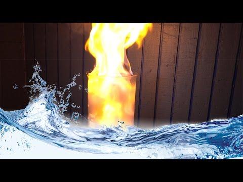 Как зажечь огонь с помощью воды? Химический эксперимент!