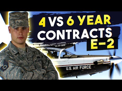 4 vs 6 year contracts - Joining as E-2