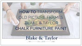 Painting Frame Makeover
