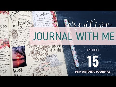 CREATIVE JOURNALING SESSION // Journal With Me 15 // Traveler's Notebook