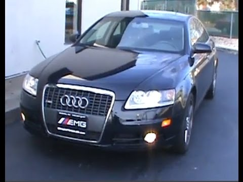 2008 audi a6 3 2 quattro c6 sedan youtube. Black Bedroom Furniture Sets. Home Design Ideas