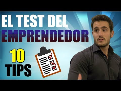 El TEST del EMPRENDEDOR   Descubre si estás preparado para EMPRENDER