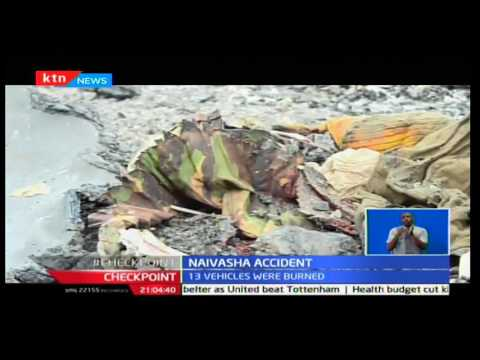 CheckPoint: Canter rammed into vehicles in Naivasha causing a death toll of 39