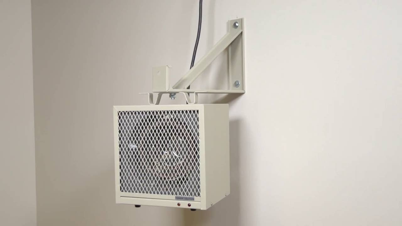 Garage Workshop Fan 5800 Series Electric Fan Forced Garage Workshop Heater