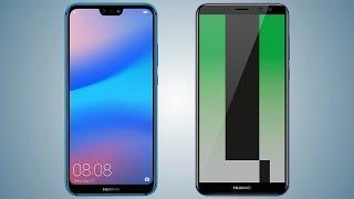 Huawei P20 lite vs Mate 10 lite Comparison