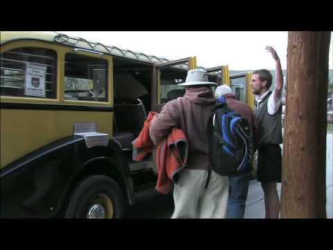 Yellowstone's Historic Yellow Bus Tours