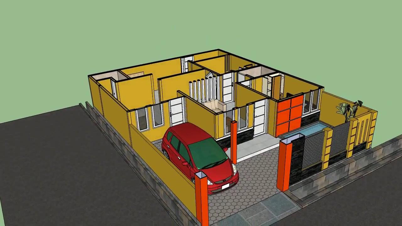 Renovasi Rumah Luas Tanah 9 X 12 Tipe 36 Menjadi Lebih Luas Reques By Dola Youtube