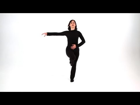 How to Do the Passe   Jazz Dance