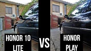 Honor 10 lite Vs Honor Play | Camera Test