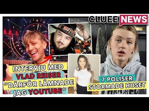 7 POLISER STORMADE YOUTUBERS HUS #Clueenews VLAD REISERS NYA LÅT ÄR LÄCKT!