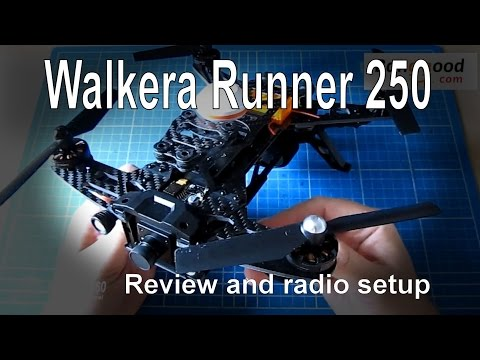 RC Review – Walkera Runner 250 review and adding your own radio (from Banggood.com)