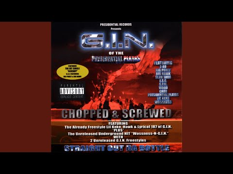 G.I.N. Freestyle - Chopped (feat. Mr. Got Damn, Lyrical 187, H2O & Kevo)