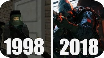 THE Evolution of Rainbow Six Games 1998-2018