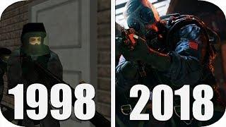 THE Evolution of Rainbow Six Games 1998-2018