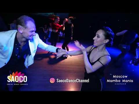 Aleksandr Frolov And Irina Nazarenko Salsa Dancing At 2nd Moscow MamboMania Weekend, Sat 09.03.2019