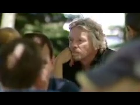 Galactic travel with Richard Branson - Space Tourist - BBC Science & Nature