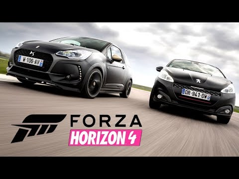 forza horizon 4 le top des voitures supercars cars peugeot citroen renault. Black Bedroom Furniture Sets. Home Design Ideas