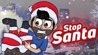 ¡ME ATACA UN SANTA MALVADO! ⭐️ Stop Santa | iTownGamePlay