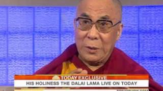 Ann Curry Interviews His Holiness the Dalai Lama on NBC's The Today Show