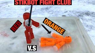 Stikbot Fight Club 2 | Red V.S Orange | #Stikbot