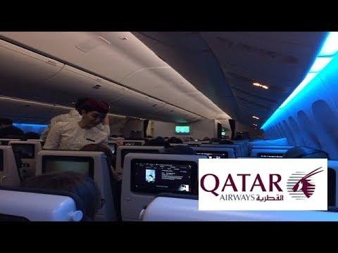Qatar Airways QR807|Economy Class|Narita ✈︎ Doha