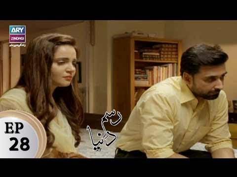 Rasm-e-Duniya - Episode 28 - ARY Zindagi Drama