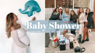 MY BABY SHOWER // Opening Gifts + Going to NYC!