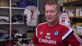 Nachgefragt beim Hamburger SV: Wie kommt ein Logo aufs Trikot?