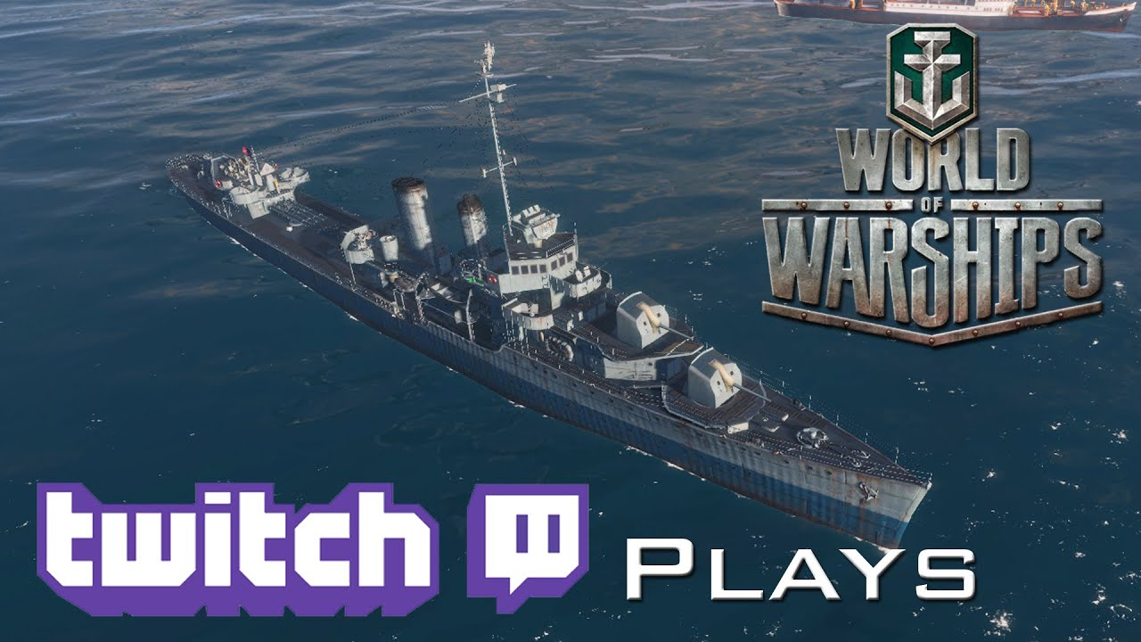 world of warships - twitch plays