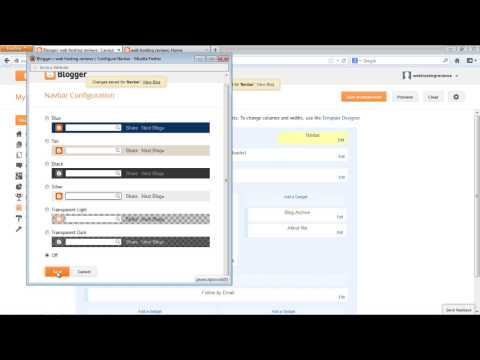 How To Remove Blogger Navbar On Latest Blogspot Interface 2014