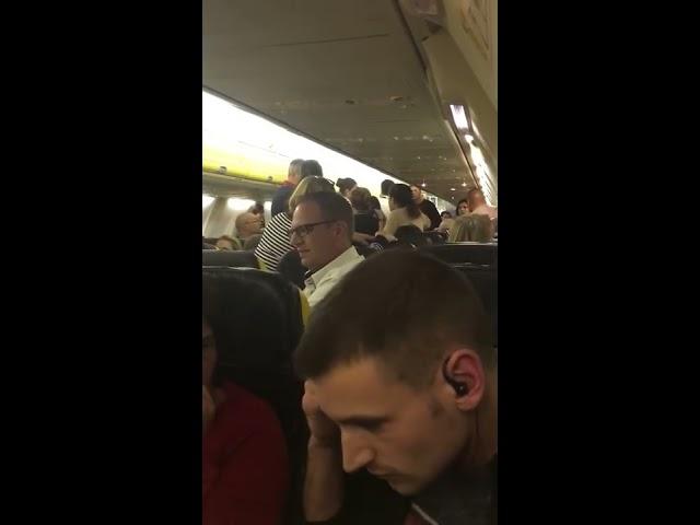 Pelea a bordo del avión de Ryanair