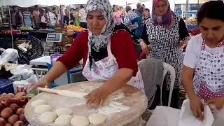 Гёзлеме. Vlog # 16 Турция. (тур. Gözleme)