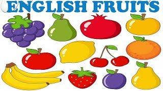 Çocuklar İçin İngilizce Meyveler 1, English Fruits for Kids