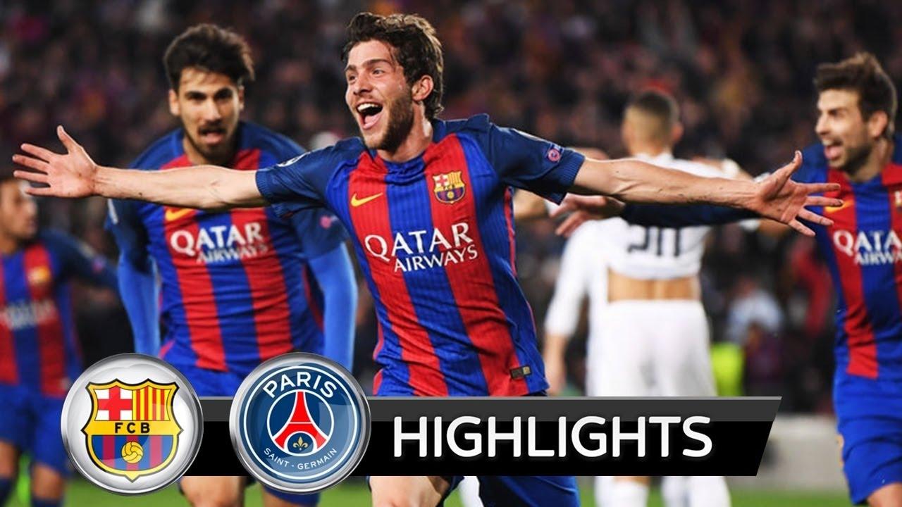 Barcelona vs PSG 6:1 - All Goals & Highlights 2017 HD ...