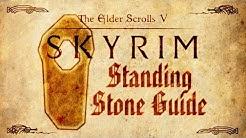 Skyrim - Standing Stones Guide