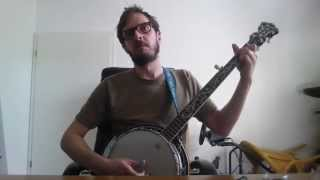 dirty old town the pogues banjo cover tabs chords
