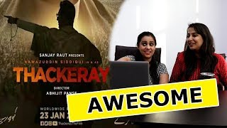 Thackeray Official Trailer Reaction | Nawazuddin Siddiqui, Amrita Rao |