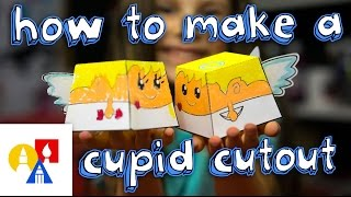 How To Make A Cupid Papercraft Cutout