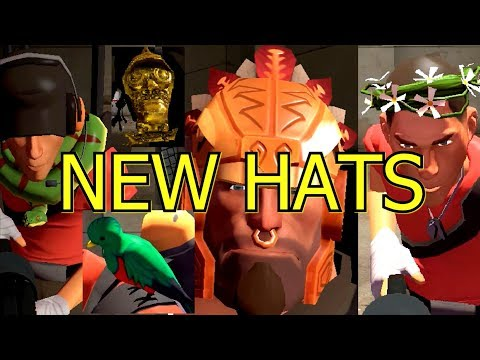 tf2:-abominable-and-unleash-the-beast-cosmetic-case-hats-items-in-game-showcase-►jungle-inferno◄