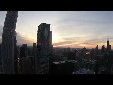 Drone Chicago - Lake Shore East Park HD1080p