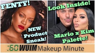 Photos of Fenty's Next Launch! Inside Mario x KKW Eyeshadow Palette! | Makeup Minute