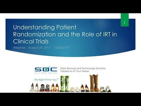 Webinar: Understanding Patient Randomization and the Role of IRT in Clinical Trials