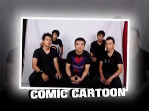 Music Comic Cartoon Band