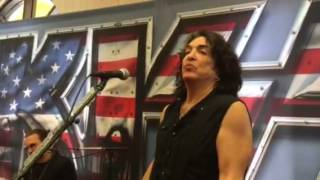 KISS COMIN' HOME ACOUSTIC SHOW TUCSON 07/04/2016