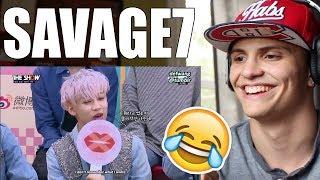 GOT7 being Savage REACTION thumbnail