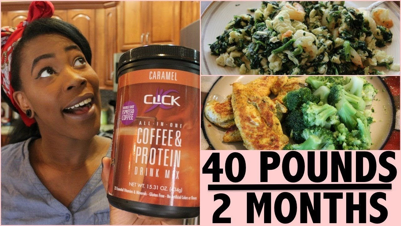 How I Lost 40 Pounds In 2 Months Full Day Of Eating Reupload