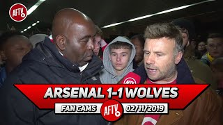 Arsenal 1-1 Wolves | Emery's Overthinking The Formation & Tactics (Graham)
